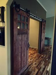 Inside Barn Door by Enjoyable Entrance Barn Doors Interior Ideas With Brick Exposed
