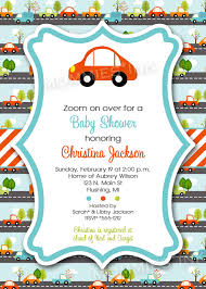 Mod Baby Shower by Simple Mod Car Baby Shower Or Birthday Invitation By Mommiesink