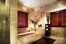 Brown Bathroom Ideas Fascinating 60 Stone Tile Bathroom Decorating Decorating Design