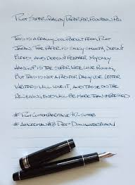 paper for fountain pen writing pilot letter pad for fountain pens review u2014 the pen addict