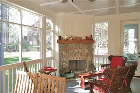 Screen Porch Fireplace by Screened In Porch With Outdoor Fireplace U2013 The Farms Building A