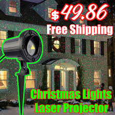 Outdoor Christmas Light Projector by Remote Control Christmas Lights Christmas Lights Decoration