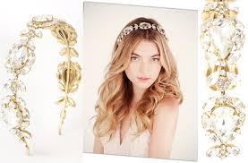gold headband wedding jewelry gold and bridal headband