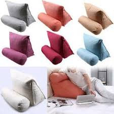 a bed rest pillow provides you a firm and steady support for your