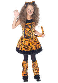 Monster Halloween Costumes Toddlers Girls Tiger Costume Costumes Dress Tiger