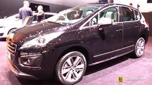 peugeot 3008 2016 interior 2015 peugeot 3008 feline thp 165 s u0026s exterior and interior