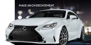 lexus is350 f sport package for sale 2017 lexus rc luxury sedan lexus com