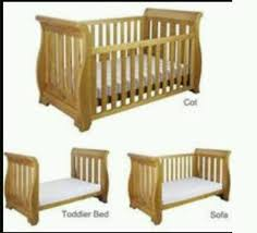 Boori Sleigh Cot Bed Boori King Parrot Sleigh Cot Bed And Chest Of Drawers Changing