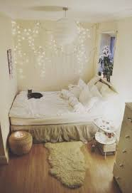bedroom design ideas for small bedrooms with string lights and
