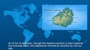 St Lucia Island Map Saint Lucia Wiki Youtube