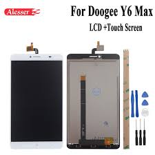 android screen repair alesser android 6 0 for doogee y6 max lcd display touch screen 6 5