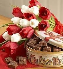 flowers and chocolate do you your flowers and chocolate ready never a dull day