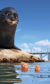 finding dory 4k wallpapers 480x800 rudder and fluke in finding dory galaxy note htc desire