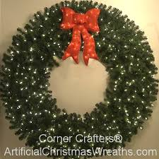 led lighted wreaths with 4 foot multi color l e d