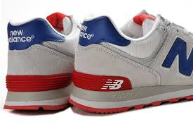 Comfortable New Balance Shoes Find Comfortable New Balance Nb Ml574cvy Classic Grey Blue Red For