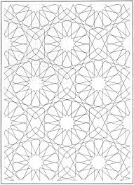 easy geometric pattern coloring pages for adults 6904 geometric