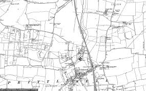printable area old os old maps of prittlewell francis frith