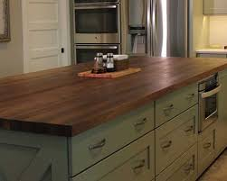 Black Walnut Kitchen Cabinets Black Walnut Kitchen Island Butcher Block Counter Tops
