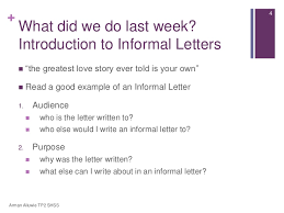 introduction of informal letter mediafoxstudio com