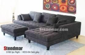 Contemporary Microfiber Sofa Modern Microfiber Sectional Sofa Foter
