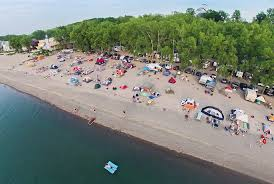 Pennsylvania beaches images Sara 39 s campground family camping on lake erie pennsylvania jpg