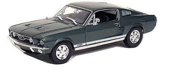 maisto ford mustang 1967 ford mustang gta fastback metallic green diecast model car