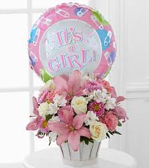 balloon gift new baby gifts are best bouquet with mylar balloon
