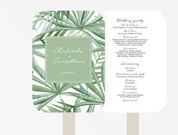 wedding fan programs diy wedding program fan xo bspoke
