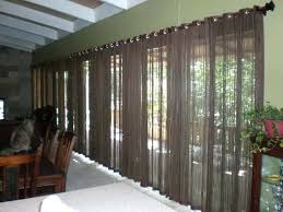 Decorative Patio Doors Contemporary Curtains For Sliding Doors Window Treatments For