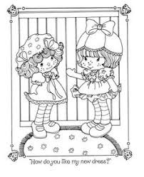 ssc birthday colouring book vintage shortcake coloring books