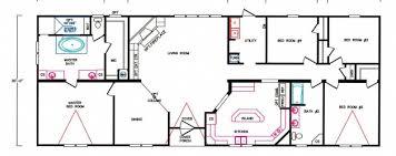 4 bedroom floor plan 4 bedroom floorplans modular and manufactured homes in ar