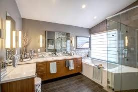 bathroom master design for small ideas hollywood master bathroom design with luxury mosaic backsplash ideas also corner small tubs