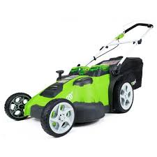 greenworks 25302 40v g max cordless lithium ion 20 in 2 in 1 twin