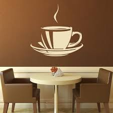 Coffee Cup Decoration Kitchen 123 Best Kitchen U0026 Food Images On Pinterest Wall Stickers Wall