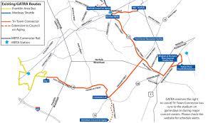 Mbta Map Commuter Rail by Tri Town Connector