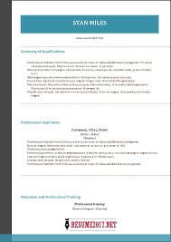 Combination Resume Samples Combination Resume Format 2017 U2022
