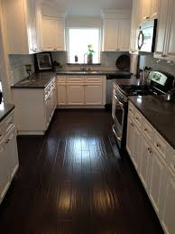 Pictures Of Kitchens With White Cabinets And Black Countertops White Kitchen Cabinets With Granite Countertops Three Black