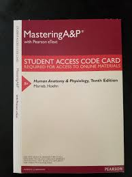masteringa u0026p with pearson etext valuepack access card for