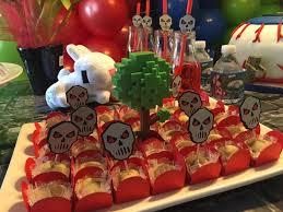 halloween party picks terraria skull food picks terraria cupcake topper halloween