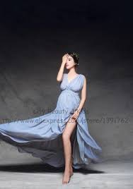 maternity photo props props maternity maxi gown chiffon backless dress fancy pregnancy