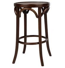 replica thonet round bentwood stool matt blatt 195 a classic