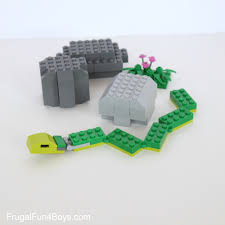 slithering snakes lego building instructions