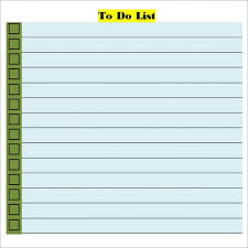 to do list template word task list templates