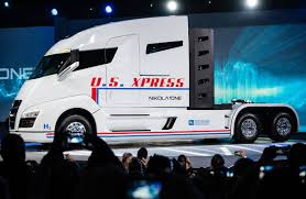 electric company truck electric trucking charges up wsj