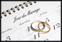 calendrier mariage jour mariage png