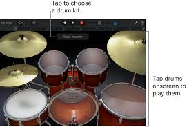 drum pattern for garageband garageband for ios ipad play the drums