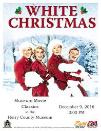 white christmas museum classics continues with white christmas horry