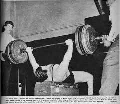 Olympic Record Bench Press Keep On Pressing Overhead Mark Pieciak