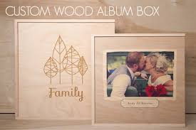 photo album box custom wood album boxes overview