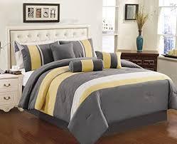 Yellow Bedding Set Gray And Yellow Bedding Bedroom Decor Ideas We Involvery